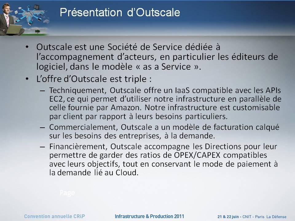 La soci t outscale adopte la solution ucs et la pr sente for Service aux entreprises exemple
